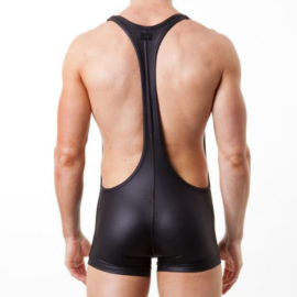 Iron Sport Singlet Black Back