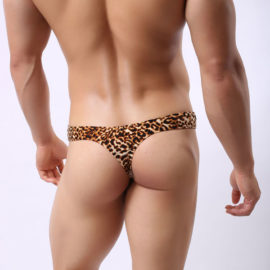 South Pacific Underwear Leopard
